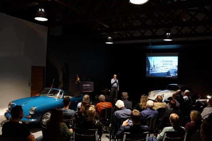 Crossley & Webb Storytellers: Porsche 356 and early 911 evening