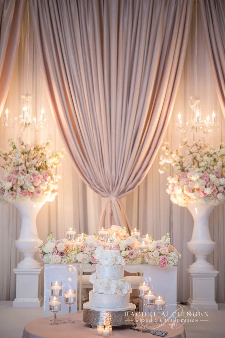 25 best wedding backdrops trending ideas on pinterest for Decorations for weddings at home