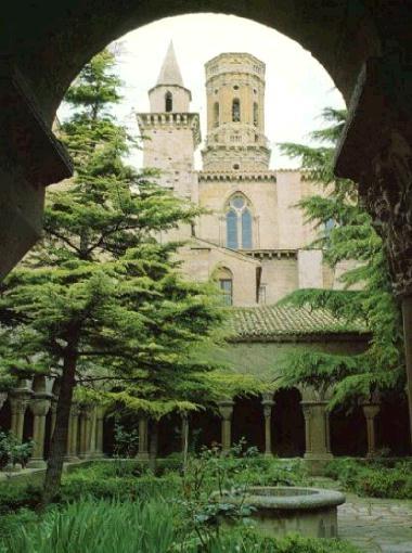 Catedral de Tudela, Navarra, Spain.