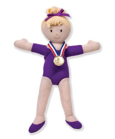 Another great find on #zulily! Girls on the Move™ Blonde Gymnast Doll by North American Bear Co. #zulilyfinds
