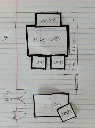 Decorating 101: Space Planning (and more on Jill's surprise makeover!) | * V…   – Homey Things