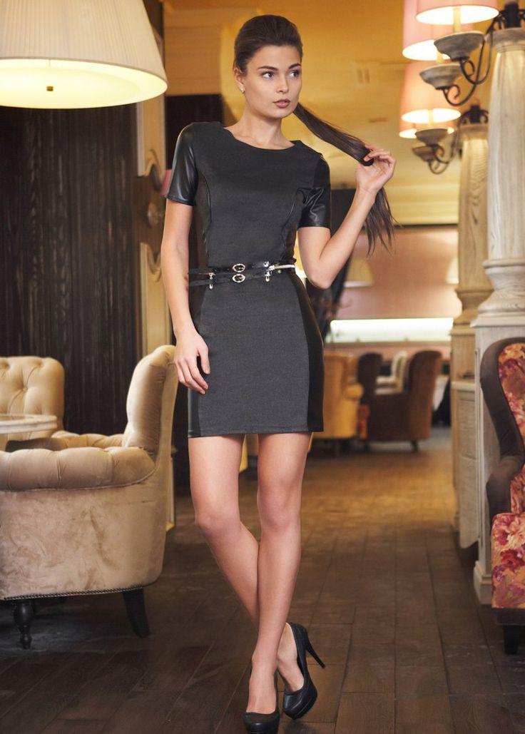 Серые платья с кожаными вставками, новые коллекции на Wikimax.ru Новинки уже доступныhttps://wikimax.ru/category/serye-platya-s-kozhanymi-vstavkami-otc-34487