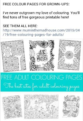 Free coloring pages for us adults who still like to color itscheaperthantherapy