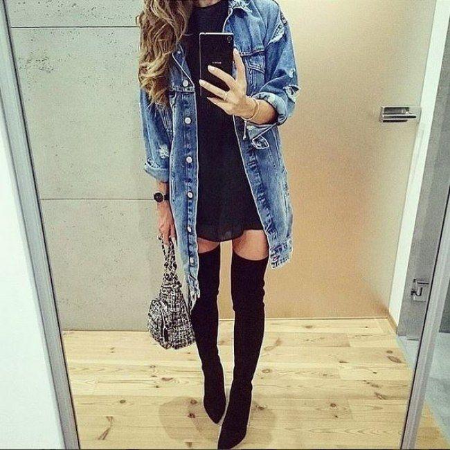 Overknees kombinieren: So stylt ihr den sexy Trend-Stiefel