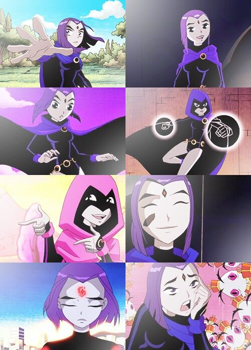 Raven, The Most Powerful And Best Teen Titan  Teen Titans -1834