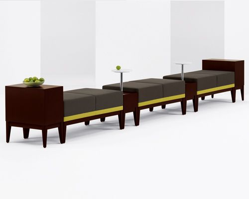 Arcadia Ovate Modular Benches And Tables Perfect For Hospitality Retail Available At Cfs