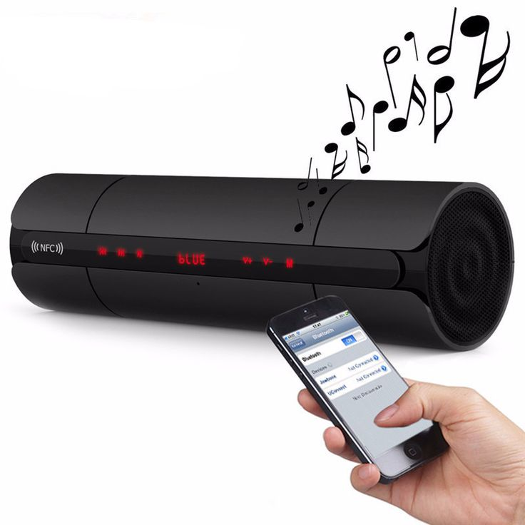 Portable FM HIFI Bluetooth Wireless Stereo speakers w/Super Bass Sound - INNOVATIVE PRODUCTS PORTAL - MyProductPortal.com