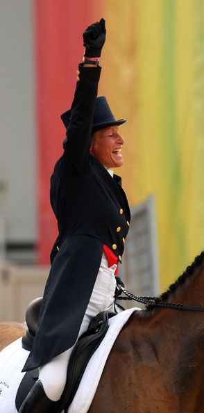 Mary King Photo - Olympics Day 2 - Equestrian, amazing lady :)