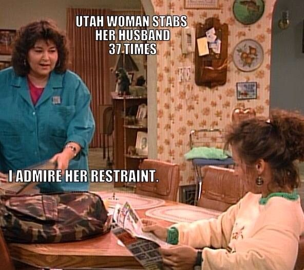 Love Roseanne lol