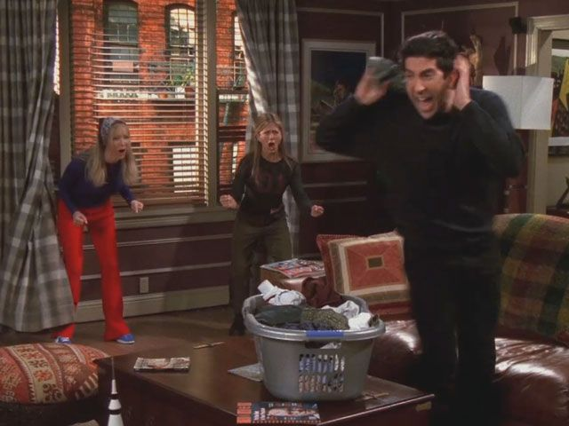 Second favorite Friends moment after Rachel getting off the plane of course!