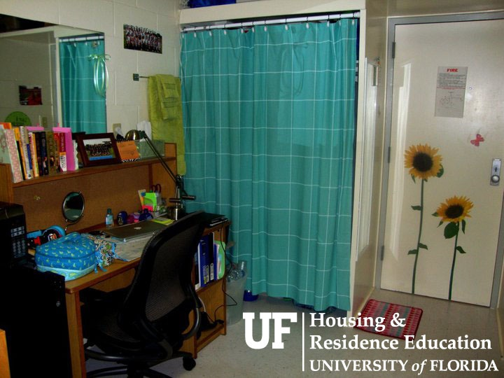 Desk And Closet In Jennings Hall Decorations And