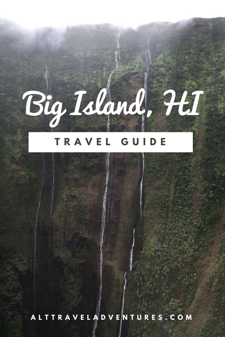 Visit Big Island, Hawaii. Things to do, places to eat, and places to drink (hikes included)