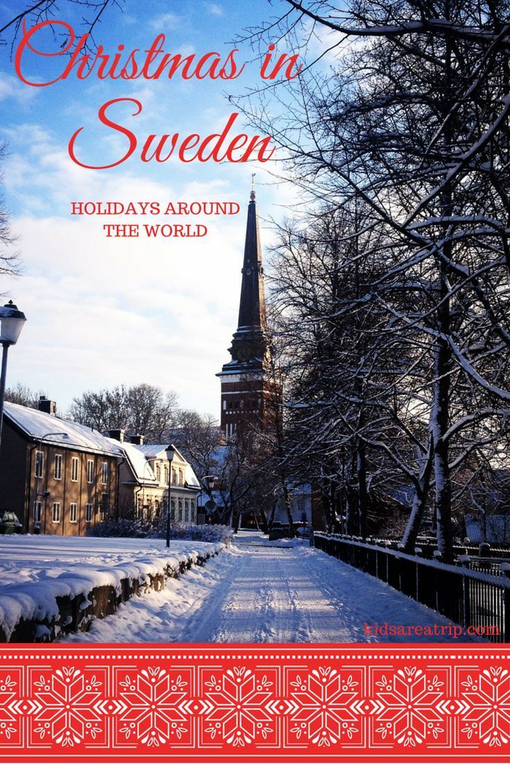 Have you ever wondered how they celebrate Christmas in Sweden? We're learning about holiday celebrations around the world and this week we're headed there!