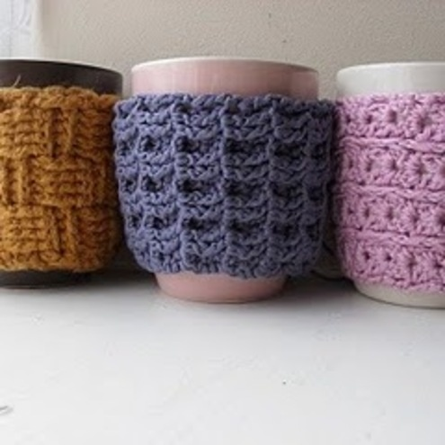 mulled wine mug cosies from the Christmas scene