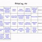 Advocare 24 Day Challenge Meal Plan | jenny collier blog