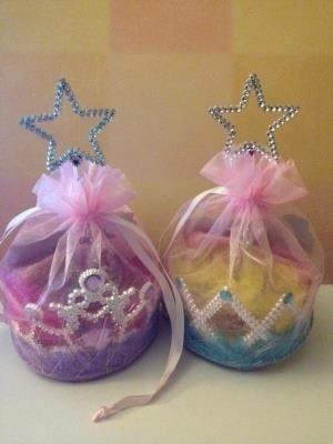 Bolsitas de dulces para las princesas