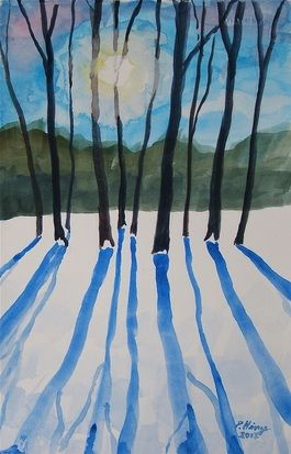 Blue Shadows - Peter F. Hinze