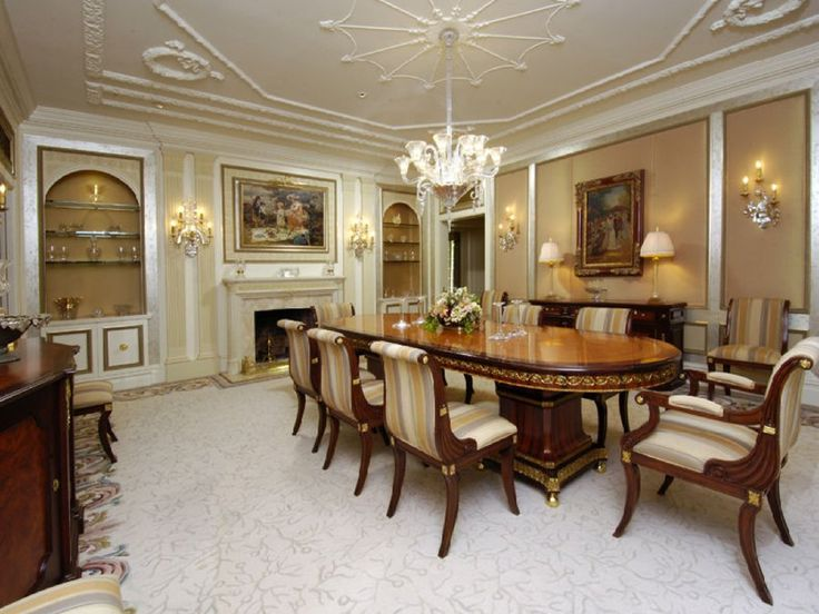 Heres The Elegant Dining Room