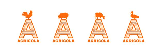 Agricola by Mucca - I love the nod to the weathervane, the carved wood feel of the typography & the kinetic system. Lovely.