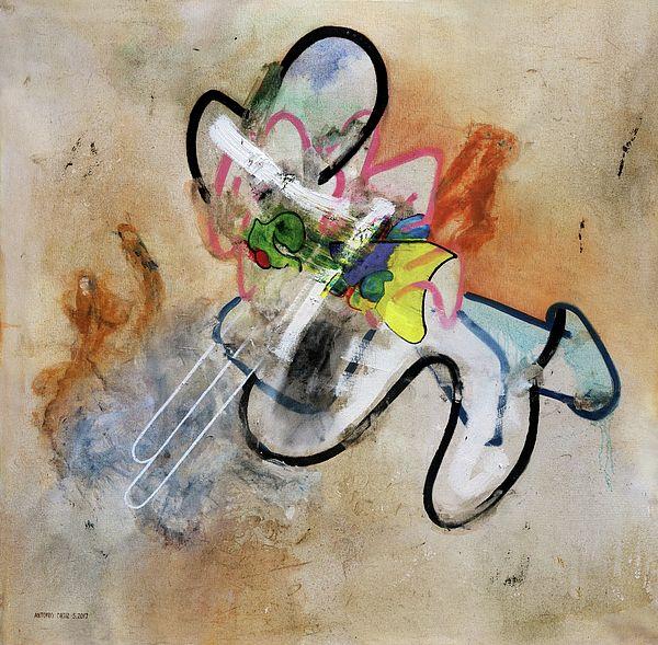 title - Masterbation (oil on canvas). AntonioOrtiz.com   #art #painting #oilpainting #contemporaryart #contemporarypainting #investmentart #gagosian #zwirner #moma #nycartist #nyc #streetart #graffiti #creative #artist #abstractart #abstractpainting #artcollector #picasso #vangogh