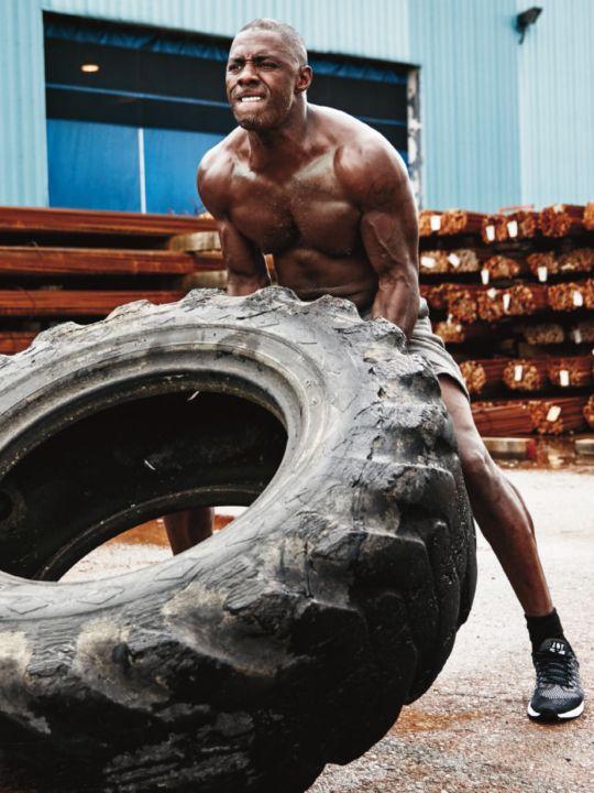 Idris Elba Men's Health 2015