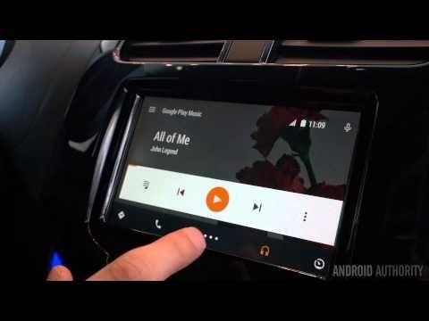 Android Auto Demo at Google I/O 2014 - YouTube
