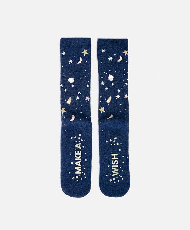 Chaussettes style cosmique - OYSHO