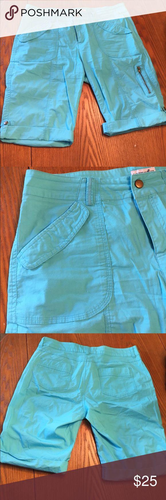 Caribbean Joe Bermuda shorts size 10 brand new Caribbean Joe Bermuda shorts size 10 brand new 97 cotton 3 spandex Shorts Bermudas