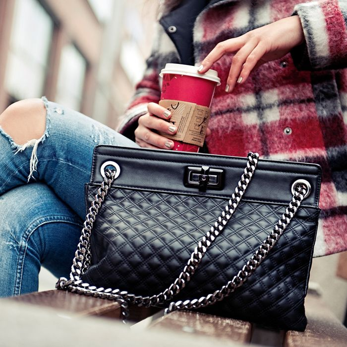 Zita wearing the perfect bag... :) http://www.personalshopper.hu/