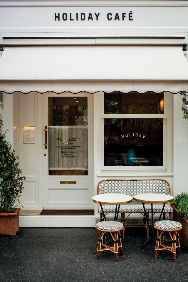 Holiday Café, Paris. Photography by Romain Laprade & @atelierfranckdurand