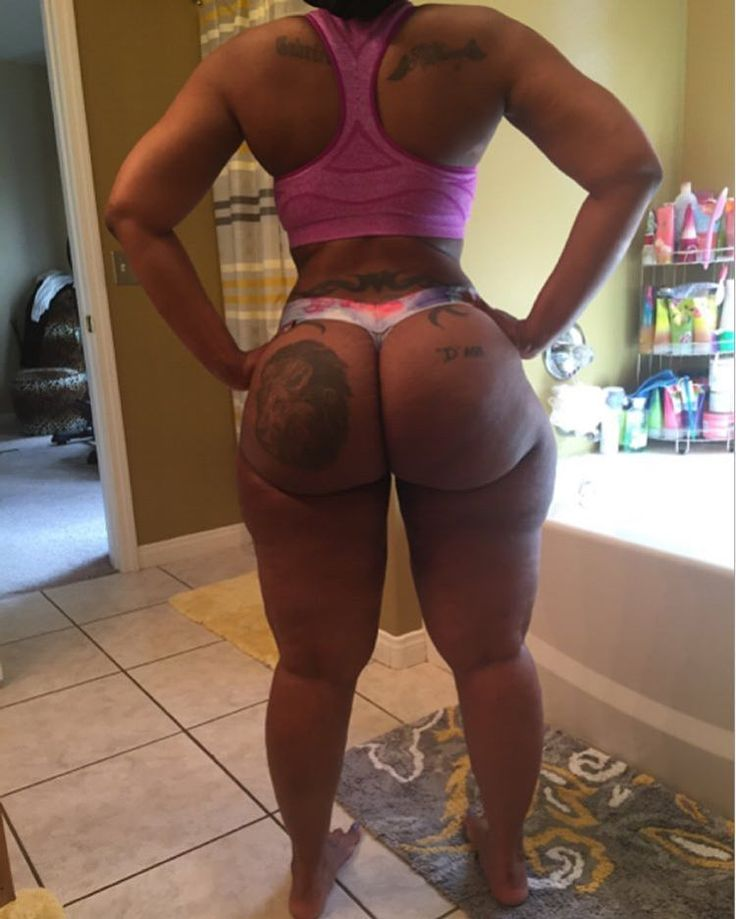 Sexy Phat Black Ass