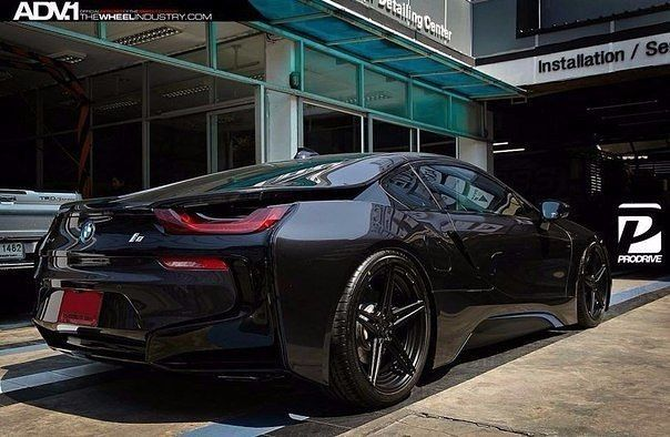 BMW i8 / Только машины
