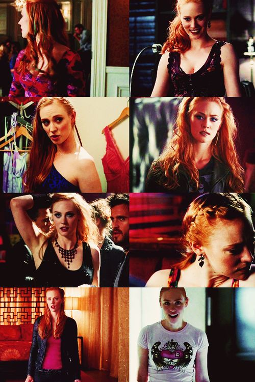 True Blood - Jessica Hamby, Bill's progeny. I love her and her gorgeous red hair!