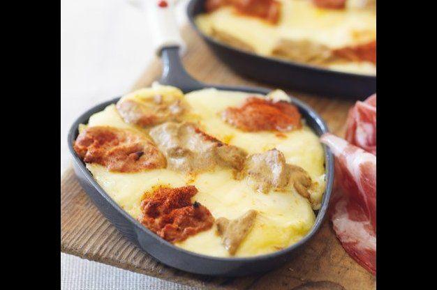 Sýrové raclette | Apetitonline.cz