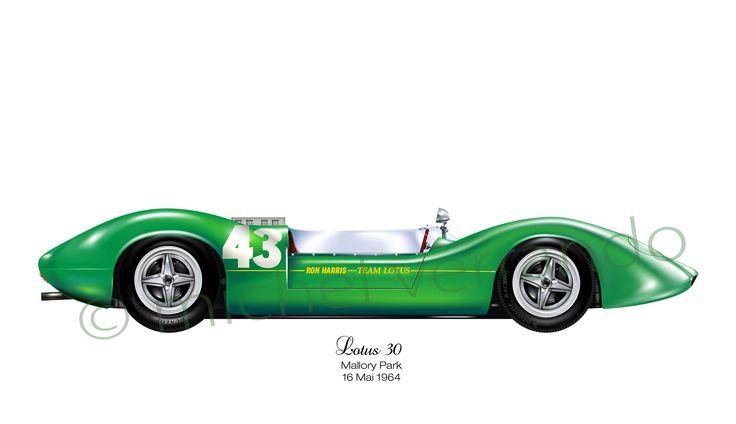 Lotus 30 - Mallory Park (Guards Trophy) - 1964