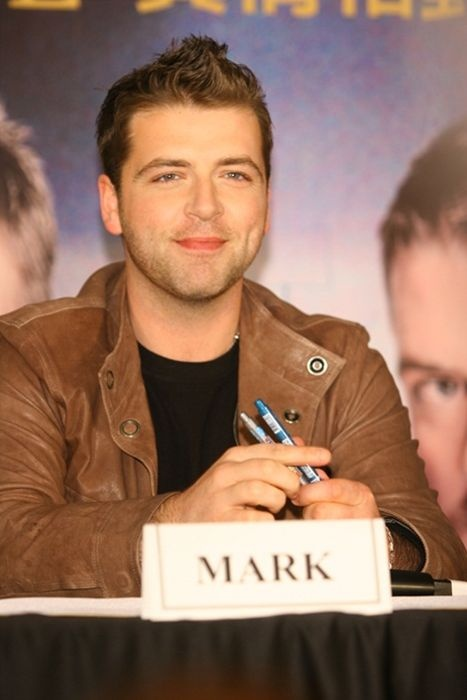 Mark Feehily Press conference in Taiwan 2006