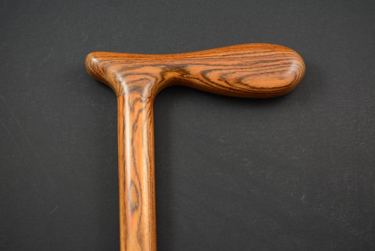 CANE Walking stick made from BOCOTE handmade wood exotic hardwood #4 by FineWoodenCreations on Etsy