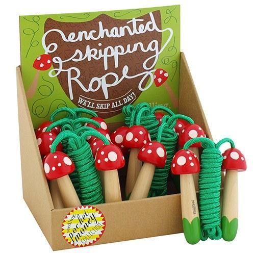 Pocket Money Collection - Mini Mushrooms Skipping Rope