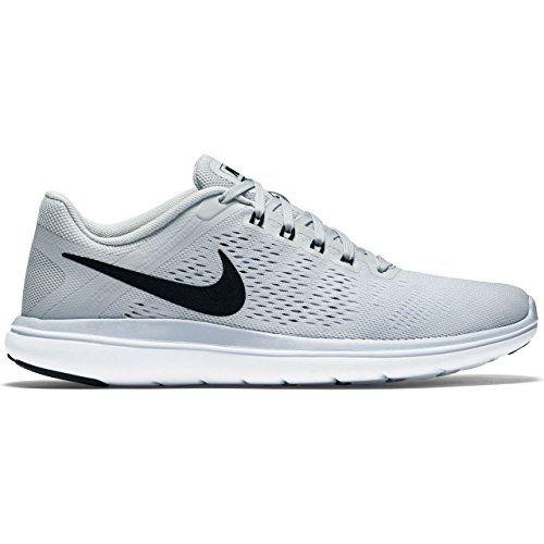 Women's Nike Flex 2016 RN Running Shoe Pure Platinum/White/Black 8.5 B(M) US - http://shopping-craze.com/2016/05/20/womens-nike-flex-2016-rn-running-shoe-pure-platinumwhiteblack-8-5-bm-us/