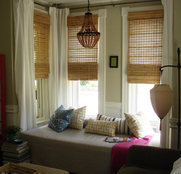 5 Fresh Ideas For Kitchen Window Treatments: Curtains For Odd Size Windows