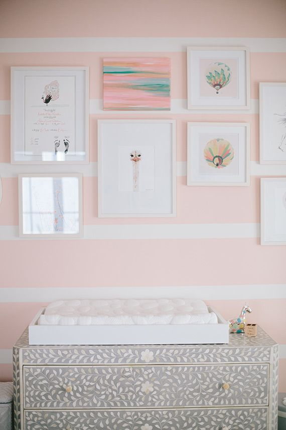 pink girls nursery