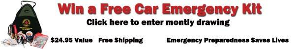 Win a free car emergency kit