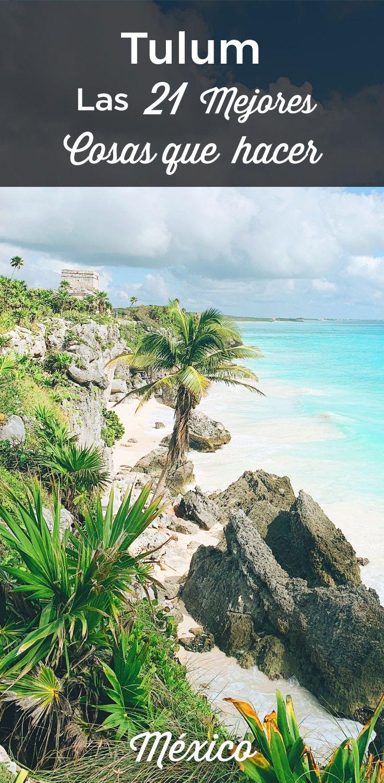 Qué Hacer En Tulum 21 Cosas Que Ver Dónde Dormir México En 2021 Tulum Guia De Viaje Tulum Hoteles