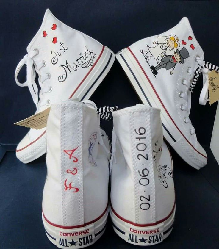 Favoloso 114 best Converse Sposi images on Pinterest | All star, Converse  ZB65
