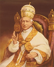 Leo XIII Papacy began 20 February 1878 Papacy ended 20 July 1903 Predecessor Pius IX Successor Pius X Orders Ordination 31 December 1837 by Carlo Odescalchi Consecration 19 February 1843 by Luigi Emmanuele Nicolò Lambruschini Created Cardinal 19 December 1853 Personal details Birth name Vincenzo Gioacchino Raffaele Luigi Pecci Born 2 March 1810 Carpineto Romano, département of Rome, French Empire Died 20 July 1903 (aged 93) Apostolic Palace, Rome, Kingdom of Italy