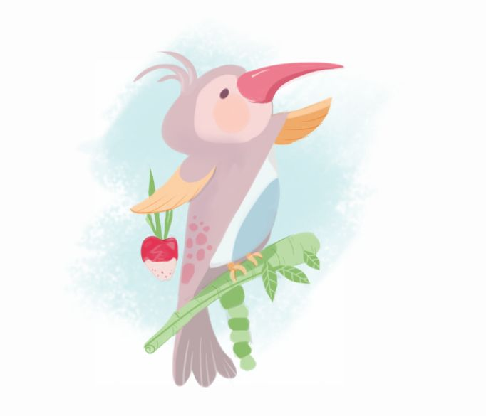 """Bird of Paradise"" by Abigail Feniza"