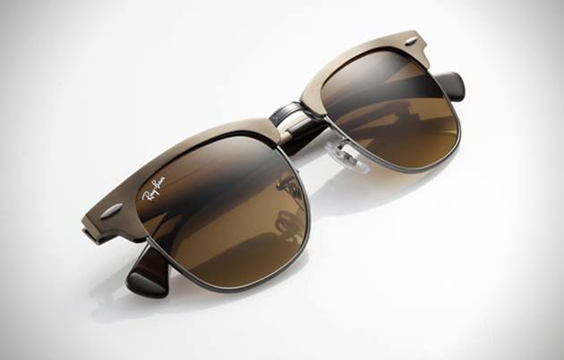 Ray-Ban Clubmaster Aluminum Sunglasses