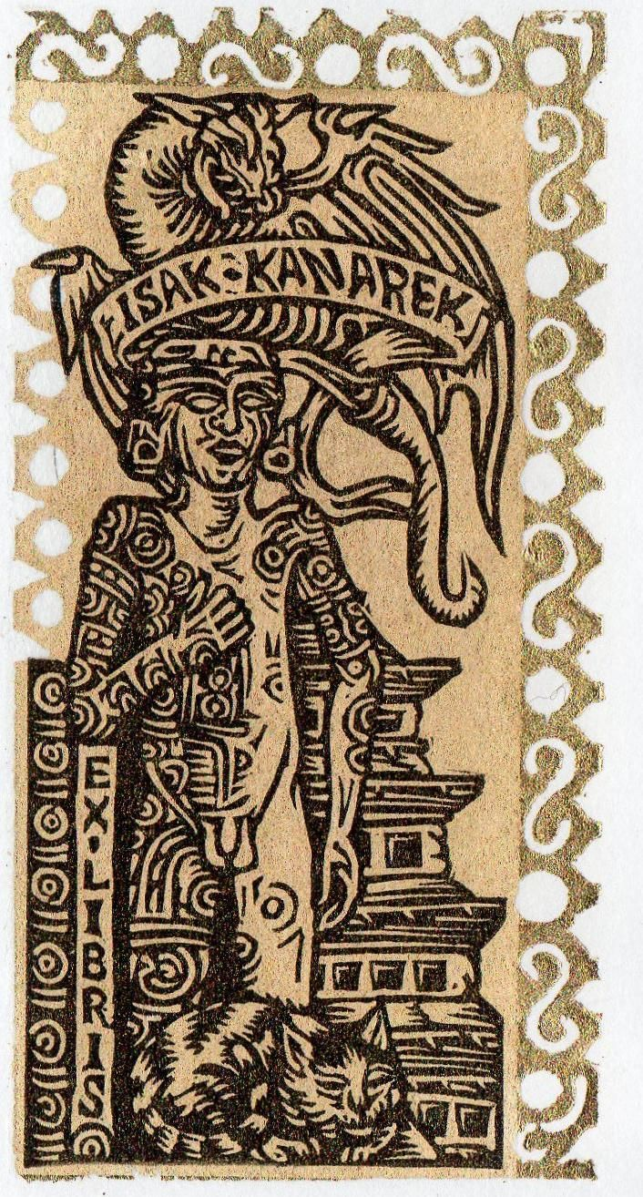 Ex Libris Isak Kanarek