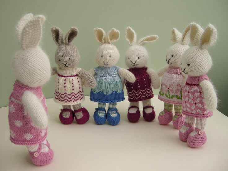 One of several stories inspired by bunnies that can be found on my Ravelry project page