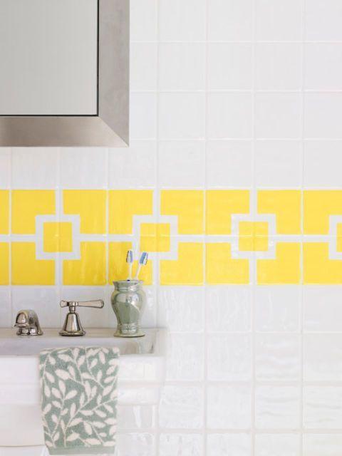 17 mejores ideas sobre azulejos pintados en pinterest - Pintar azulejos bano ideas ...